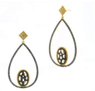 Freida Rothman Teardrop Droplet Earrings