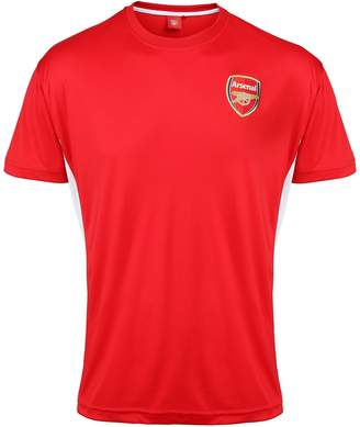 Arsenal FC Official Adults Performance T-Shirt (L)