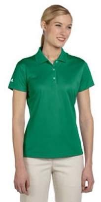adidas Ladies' climalite Basic Short-Sleeve Polo