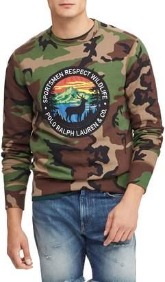 Polo Ralph Lauren Camouflage Fleece Sweatshirt