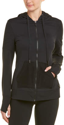 Betsey Johnson Performance Pintuck Jacket