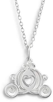 Disney Princess Cinderella Carriage Pendant Necklace
