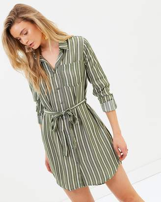 All About Eve Amelia Stripe Shirt Dress