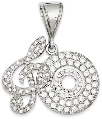 Christian Dior Leslies Gold and Watches Sterling Silver CZ Musical Note and Pendant