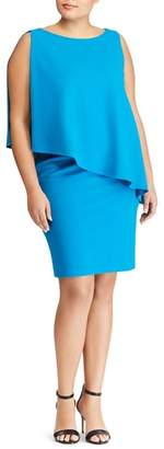 Lauren Ralph Lauren Cooper Overlay Sheath Dress