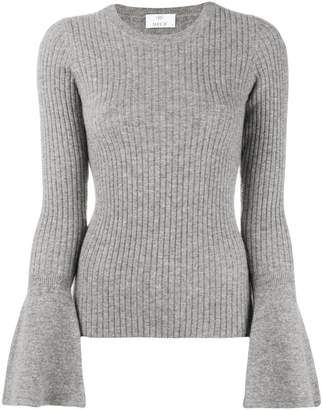 Allude wide sleeve jumper