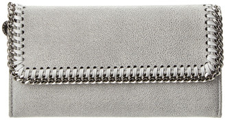 Stella McCartney Falabella Shaggy Deer Continental Wallet