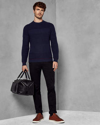 Ted Baker LATAR Textured crew neck