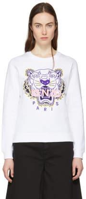 Kenzo White Tiger Sweatshirt