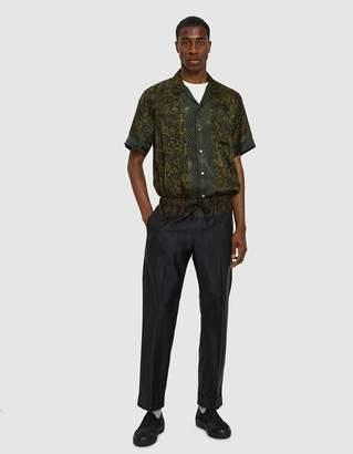 Dries Van Noten Carlton Shirt in Green Multi
