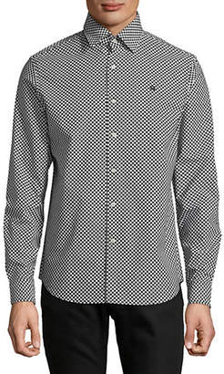 G Star Checkered Straight Sport Shirt