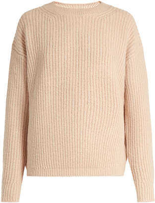 VINCE Wool-blend crew-neck sweater $385 thestylecure.com