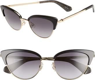 Kate Spade Jahnams 52mm Cat Eye Sunglasses