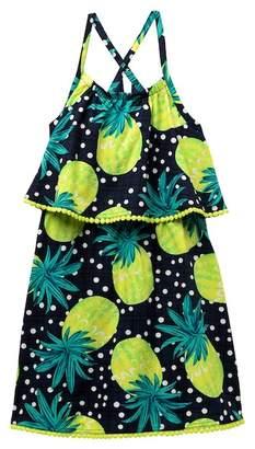 Appaman Lee Popover Pineapple Dress (Toddler, Little Girls, & Big Girls)