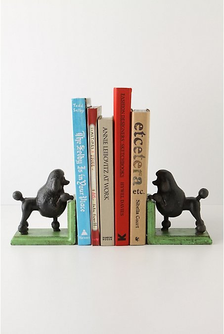 Gomez The Poodle Bookends