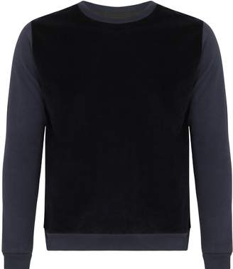 Tress Clothing - Navy Cotton Cashmere Sweater