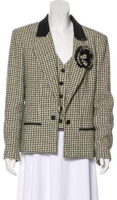 Chanel Layered Tweed Blazer