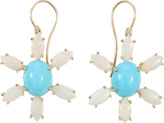 Andrea Fohrman Sleeping Beauty Turquoise Earrings