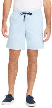 Izod FF Dockside Printed Chambray Shorts