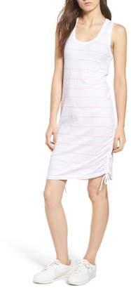 Sundry Shirred Racerback Dress