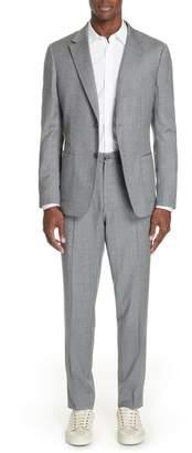 Ermenegildo Zegna Wash and Go Trim Fit Solid Wool Suit