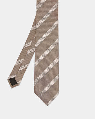 Ted Baker CURRY 7cm striped silk tie