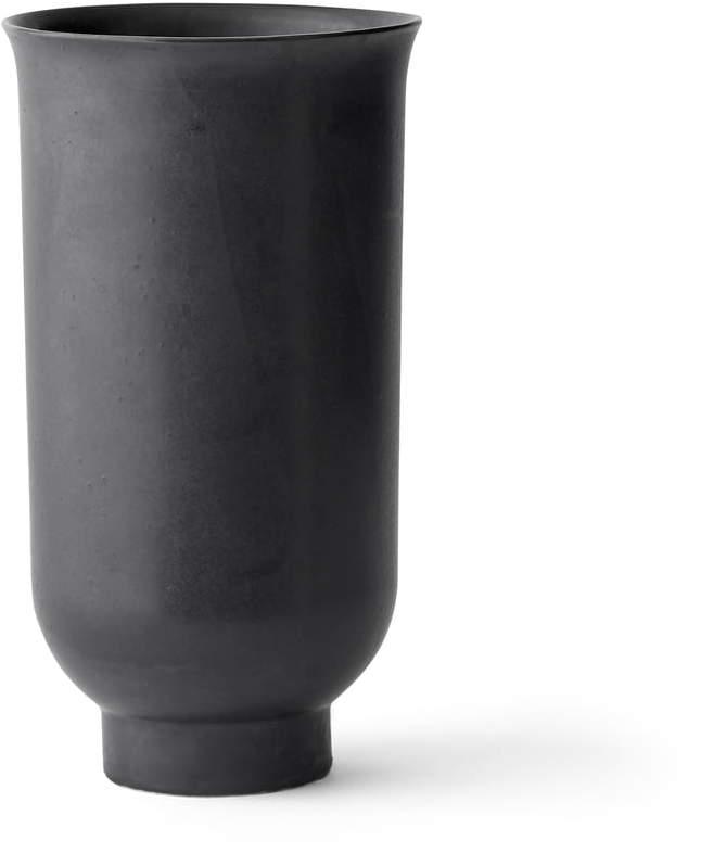 Menu - Cyclades Vase H 20 cm, Schwarz