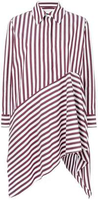 Marques Almeida Marques'almeida striped asymmetric shirt dress