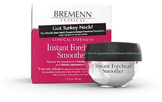 Bremenn Research Labs BREMENN CLINICAL Instant Forehead Smoother- Cream Designed to Reduce the Appearance of Wrinkles and Forehead Lines