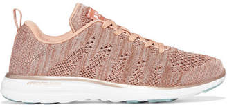 APL Athletic Propulsion Labs Techloom Pro Mesh Sneakers - Pink