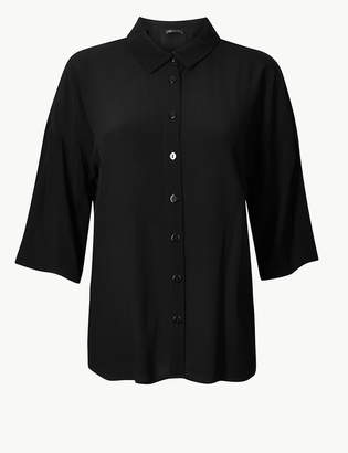 Marks and Spencer Oversized 3/4 Sleeve Shirt