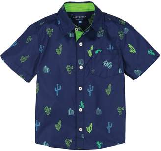 Andy & Evan Catcus Print Woven Shirt