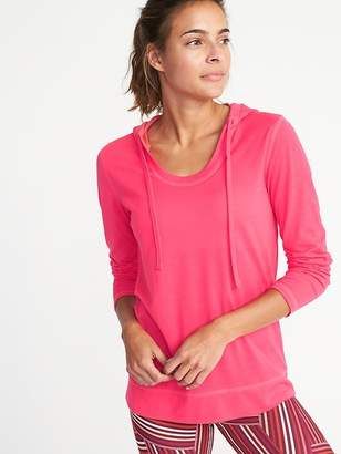 Old Navy Lightweight Performance Pullover Hoodie for Women