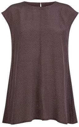 Eileen Fisher Silk Print Shirt