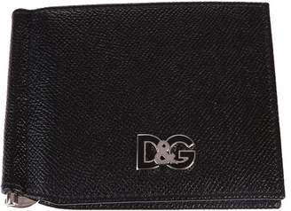 Dolce & Gabbana Black Logo Wallet