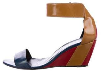 Pierre Hardy Colorblock Wedge Sandals