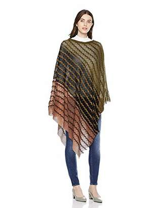 Beautiful Nomad Crochet Shawl Wrap Cape Poncho with Tassle for Women