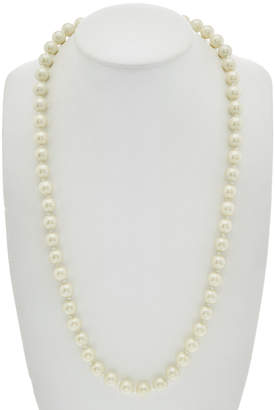 Carolee Glass Stone & Pearl 34In Necklace