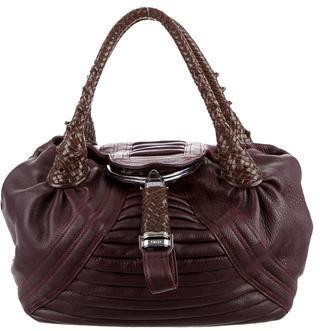 FendiFendi Piped Leather Spy Bag