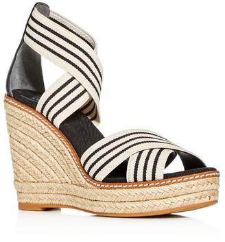 Tory Burch Women's Frieda Platform Wedge Espadrille Sandals