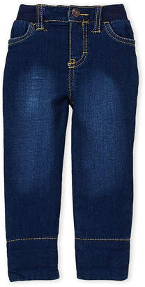 Osh Kosh B'gosh (Infant Boys) Plaid Cuff Denim Pants