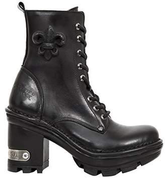 New Rock Women's M Neotyre07 S1 Boots Black Size: 4