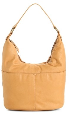 American Leather Co. Carrie Leather Hobo Bag