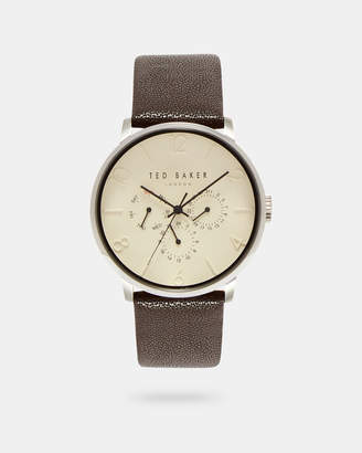 Ted Baker NIAFALS Leather strap watch