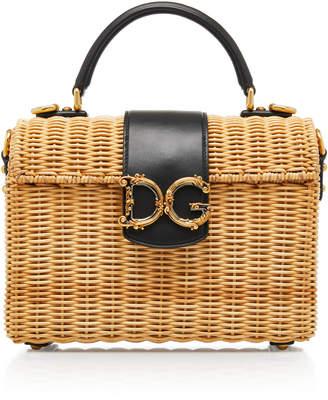 Dolce & Gabbana Wicker Bag