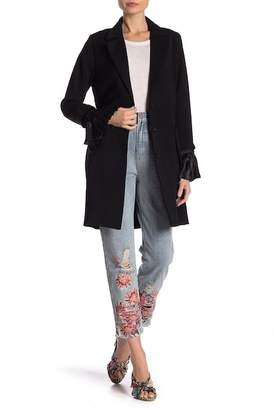 LOST INK Pleat Sleeve Duster