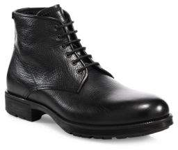 Aquatalia Harvey Leather Work Boots