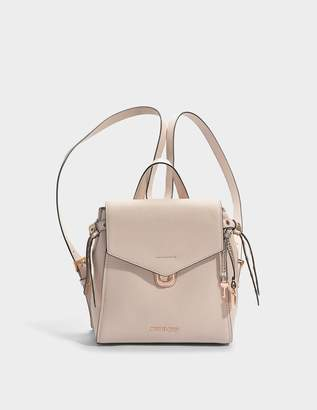 MICHAEL Michael Kors Bristol Small Backpack in Soft Pink Pebble Leather