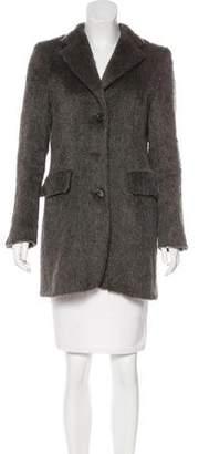 Max Mara Alpaca and Virgin Wool-Blend Coat