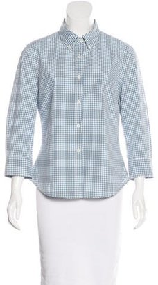 Boy. by Band of Outsiders Gingham Button-Up Top $65 thestylecure.com